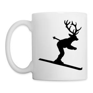 Ski Hirsch Tasse - Tasse