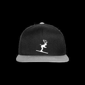 Ski Hirsch Retro Baseballkappe - Snapback Cap