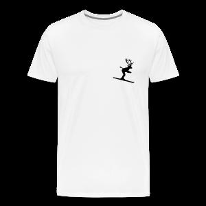 Ski Hirsch S-5XL T-Shirt - Männer Premium T-Shirt