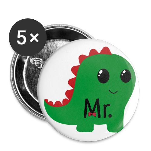 dragon mr. - Buttons large 2.2''/56 mm(5-pack)