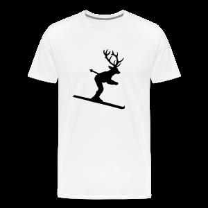 Ski Hirsch T-Shirt - Männer Premium T-Shirt