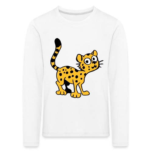 Leopardenbaby - Kinder Premium Langarmshirt