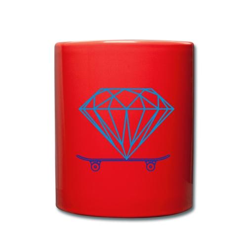 diamond skater logo mug - Full Colour Mug
