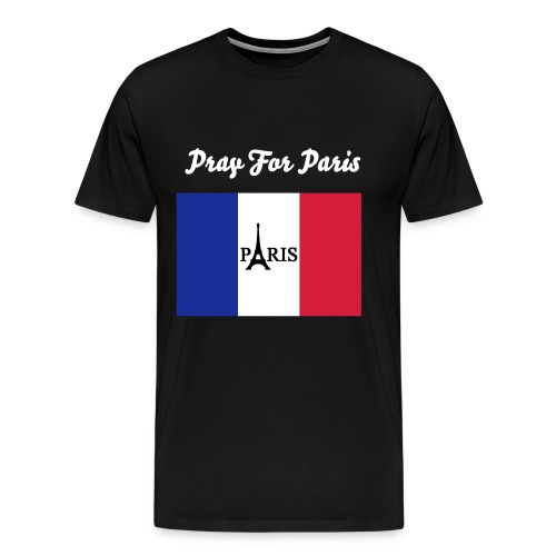 Pray For Paris - T-shirt Premium Homme