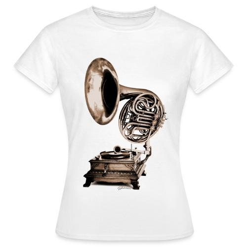 Grammo-Horn - Frauen T-Shirt