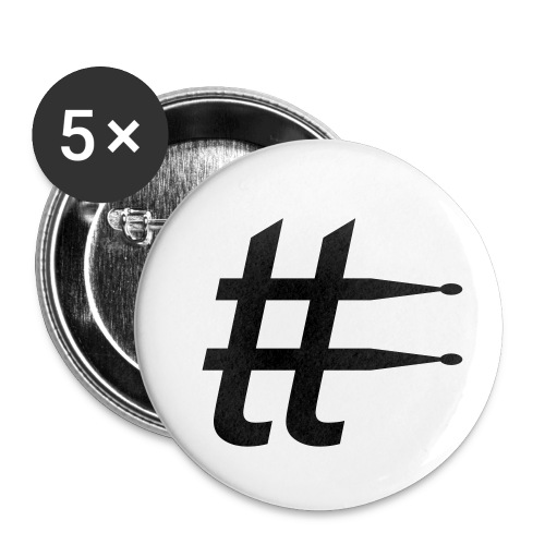 tobbatee's Icon logo pin - Buttons medium 32 mm