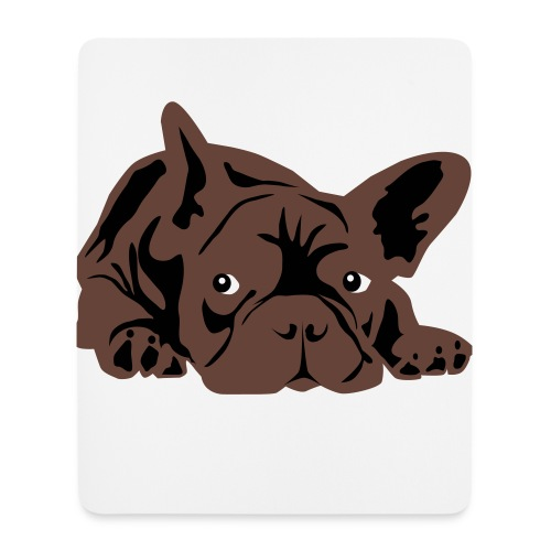 frenchie mouse pads - Mouse Pad (vertical)