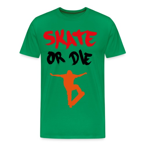 amazing diamond skater men's t shirt skater or die! - Men's Premium T-Shirt