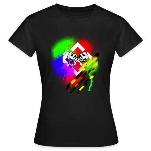Painted Spark - Frauen T-Shirt