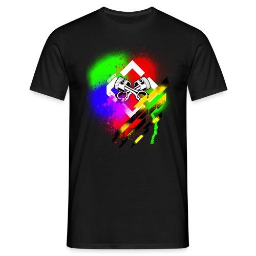 Painted Spark - Männer T-Shirt