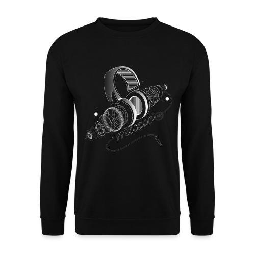 Headphone - Männer Pullover