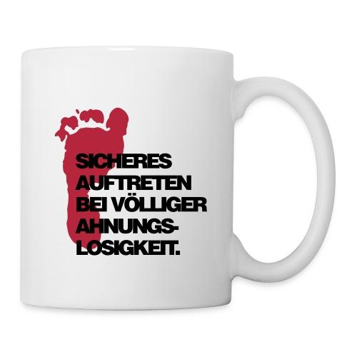 Sicheres Auftreten Tasse - Tasse