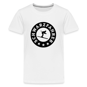 Schwarzfahrer Seal Teenager T-Shirt - Teenager Premium T-Shirt
