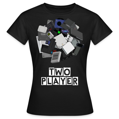 TWO PLAYER OFFICIAL SHIRT - F - Women's T-Shirt