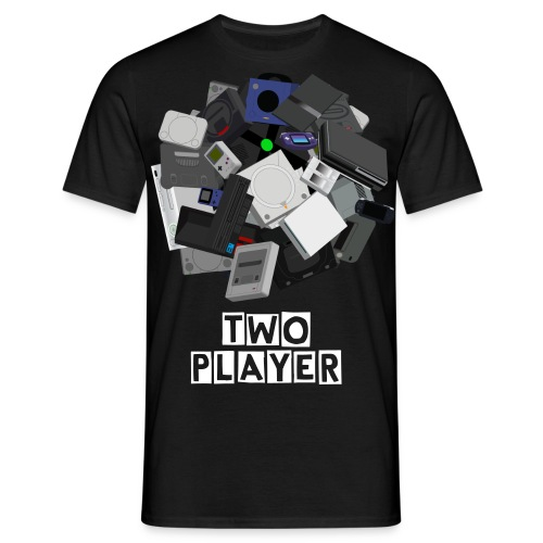 TWO PLAYER OFFICIAL SHIRT - M - Men's T-Shirt