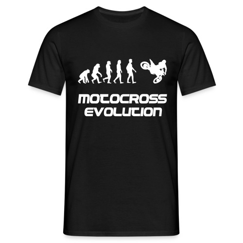 Motocross Evolution - Männer T-Shirt