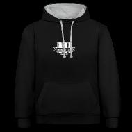 Pullover & Hoodies ~ Kontrast-Kapuzenpullover ~ Artikelnummer 104883822