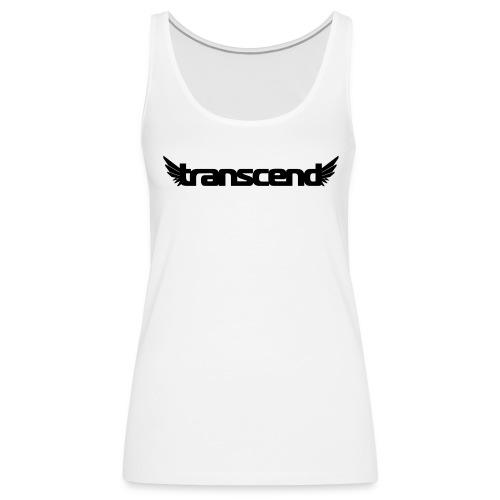 Transcend Tank Top - Women's - Black Print - Women's Premium Tank Top