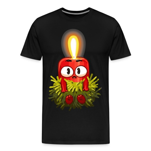 Kerzenbaby - Männer Premium T-Shirt