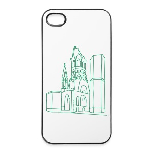 Kaiser Wilhelm Memorial Church Berlin Phone & Tablet Cases - iPhone 4/4s Hard Case