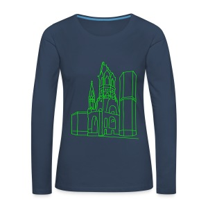 Kaiser Wilhelm Memorial Church Berlin Long Sleeve Shirts - Women's Premium Longsleeve Shirt