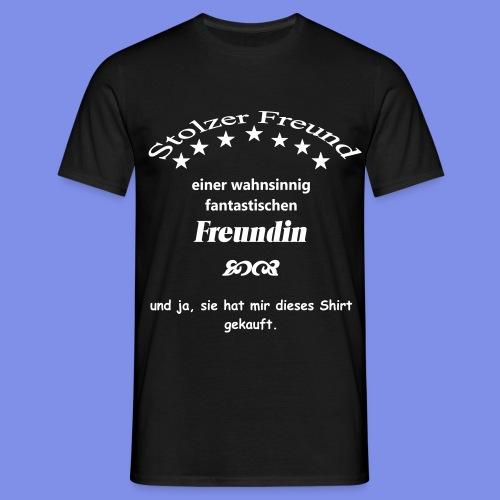 Stolzer Freund - Männer T-Shirt