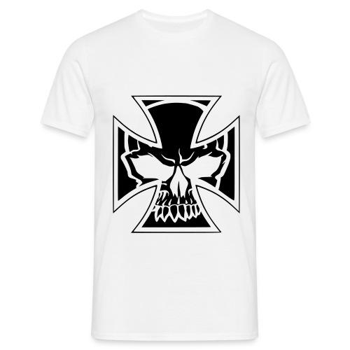 'ZOMBY SKULL' T-Shirt WHITE - Maglietta da uomo