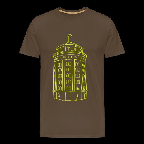 Wasserturm am Kollwitzplatz (Dicker Hermann) - Männer Premium T-Shirt