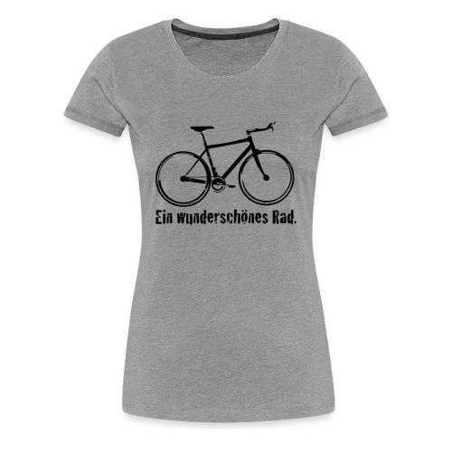 Damen Premium T-Shirt Ein wunderschönes Rad - Frauen Premium T-Shirt