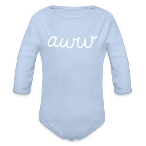 Baby Body aww - Baby Bio-Langarm-Body
