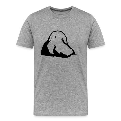 Herren Premium T-Shirt Boulder 1 - Männer Premium T-Shirt