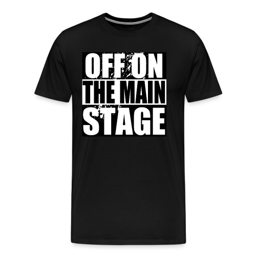 Mainstage T-Shirt (Black - Mens) - Men's Premium T-Shirt