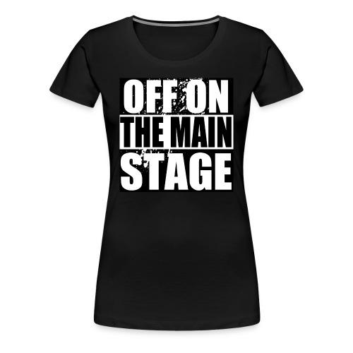 Mainstage T-Shirt (Black - Womens) - Women's Premium T-Shirt