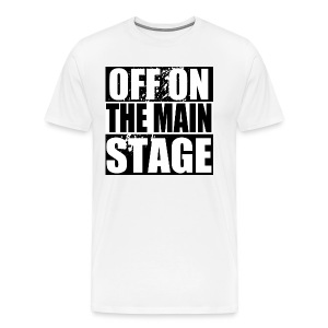 Mainstage T-Shirt (White - Mens) - Men's Premium T-Shirt