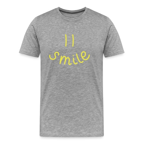 Herren Premium T-Shirt Smile(y) - Männer Premium T-Shirt