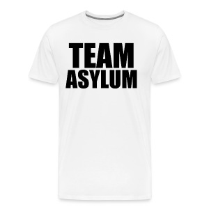 #TeamAsylum T-Shirt (Mens - White) - Men's Premium T-Shirt