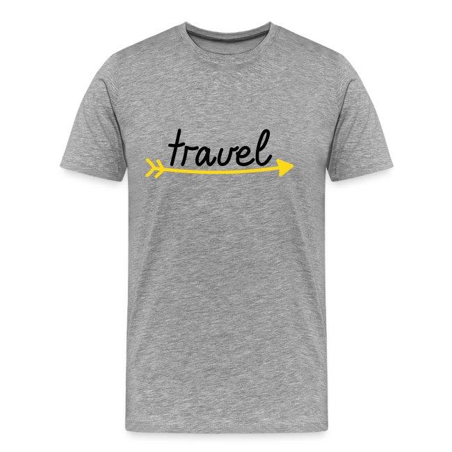 """Herren Premium T-Shirt """"travel"""""""