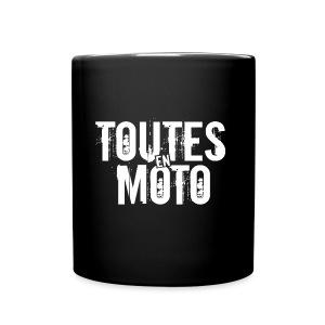 Mug Noire Logo Blanc - Tasse en couleur