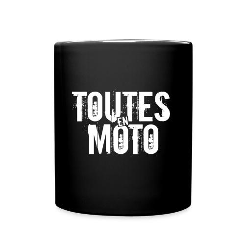 Mug Noire Logo Blanc - Mug uni