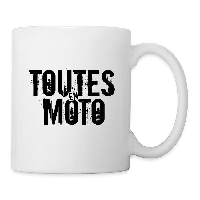 Mug Blanche Logo Noir