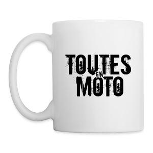Mug Blanche Logo Noir - Mug blanc
