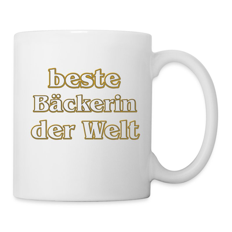 beste b ckerin der welt tasse spreadshirt. Black Bedroom Furniture Sets. Home Design Ideas