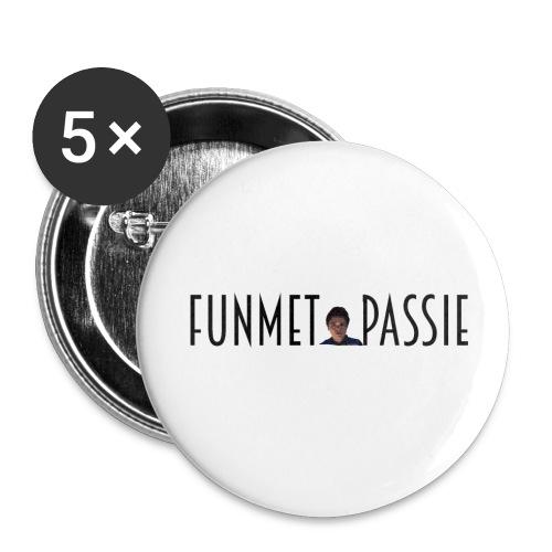 FunmetPassie Buttons (set van 5) - Buttons groot 56 mm