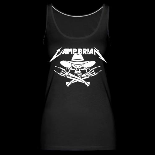 CAMP BRIAN (glat print) - Women's Premium Tank Top
