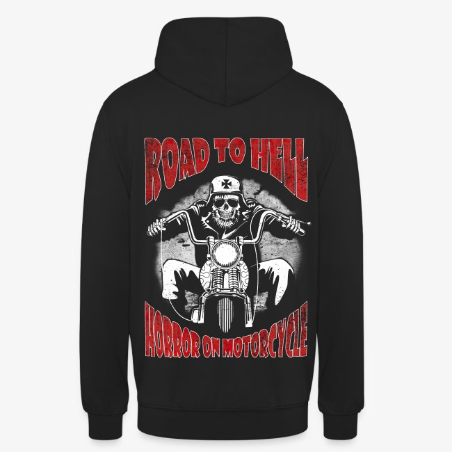 Road to Hell sudadera capucha