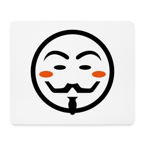 Anonymous Vendetta Mask - Mousepad (Querformat)