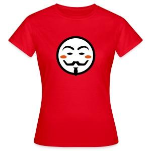 Anonymous Vendetta Mask - Frauen T-Shirt