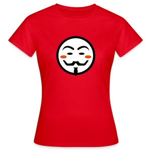 Anonymous Vendetta Mask - Frauen T-Shirt