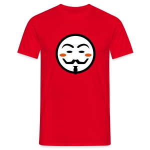 Anonymous Vendetta Mask - Männer T-Shirt