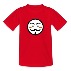 Anonymous Vendetta Mask - Kinder T-Shirt